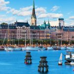 Русия по време на белите нощи със Скандинавия и Прибалтика самолет и круизен кораб