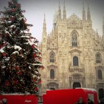 Коледно настроение в Милано