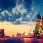 Русия- Москва и Санкт Петербург- в Пика на Белите нощи